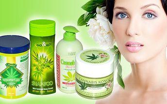 Konopná kosmetika s 50% slevou