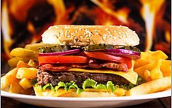 Velký Americký burger
