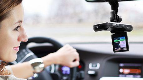 Auto kamera - LCD s nočním viděním