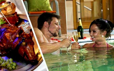 Třídenní wellness pobyt s bazénem, jacuzzi, masážemi a saunou pro dva jen za 110 €