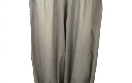 Lehké látkové kalhoty Warm grey