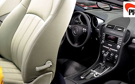 Dokonale čistý interiér vašeho vozu