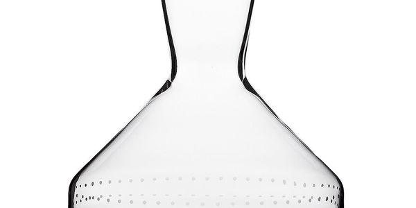 Karafa Dots ze špičkového skla od Olgoj Chorchoj, 1000 ml