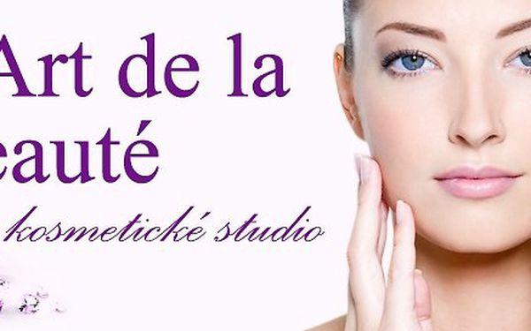 Luxusní kompletní kosmetický balíček 4v1 ve Studiu Art de la Beauté