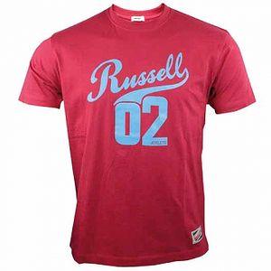 Pánské lifestyle triko Russell Athletic RUSSELL TEE červená XL