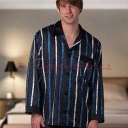 Pánské saténové pyžamo Terykon AJAX šortky