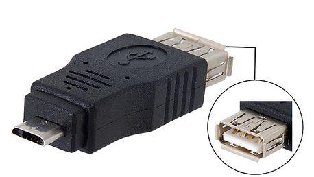 Adaptér USB A 2.0 (samice) - micro USB (samec) a poštovné ZDARMA! - 7208261