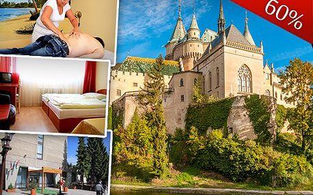 3denní pobyt na Slovensku pro 2 osoby
