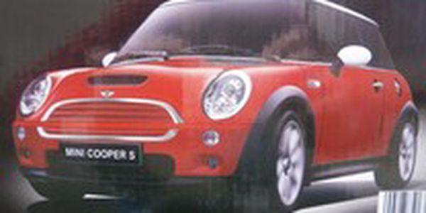 Rc auto jamara mini cooper s 1:14