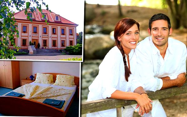 3denní pobyt pro 2 s polopenzí v hotelu Zámeček Raspenava
