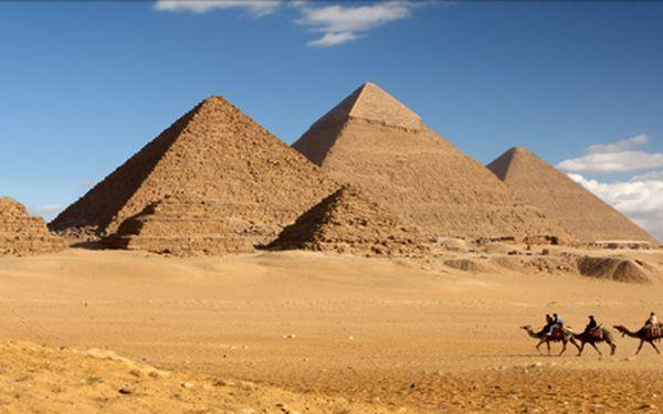 Poznávací okruh Egyptem! 8 denní březnové dobrodružství s plavbou po Nilu a návštěvou pyramid.