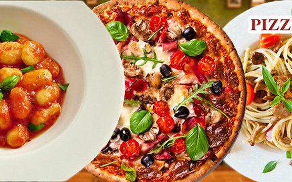 Večeře pro dva po italsku v pizzerii State of Art