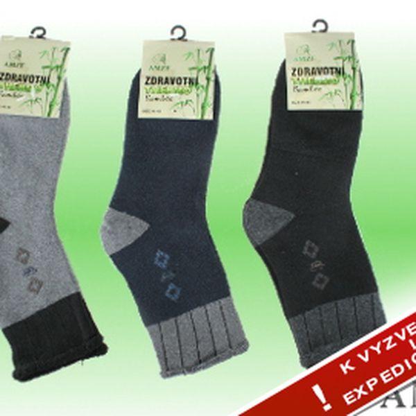 99 Kč za troje thermo ponožky s bambusovým vláknem!