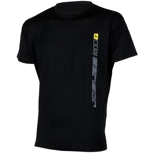 Sensor Merino Wool PT krátký rukáv pánský Logo černá M