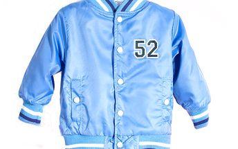 Chlapecká bunda - modrá