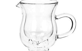 Džbánek s dvojtou stěnou na mléko - 10,3x8,3 cm