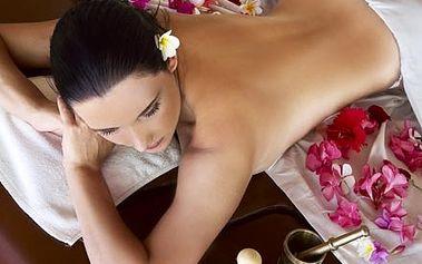 90 minutová exkluzivní kombinace havajské masáže L...