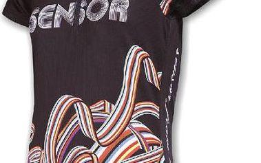 Sensor Rainbow dres k.r.dámský černá S