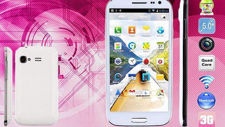 4,7palcový smartphone HTM s podporou 2 SIM karet