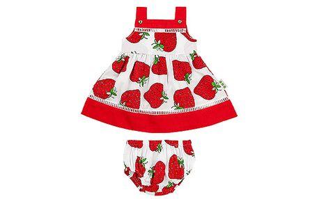Šatičky a spodní kalhotky s jahodou