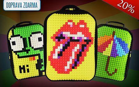 Kreativní batoh UANYI A001 Pixel Art!