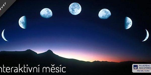 Mystický měsíc - nechte rozzářit pokoj měsíčním svitem. Kouzelný svit rozzáří oči i vašim dětem!
