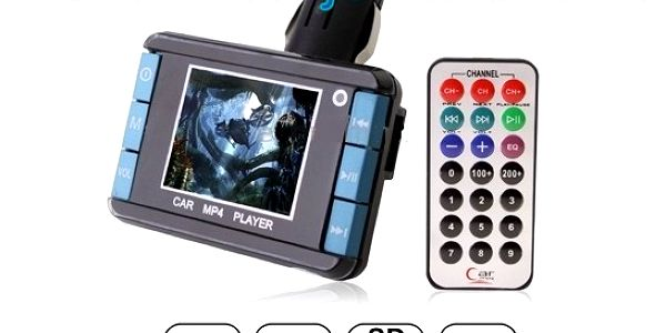 Transmitter MP4 - hudba, filmy do auta za 249 Kč!