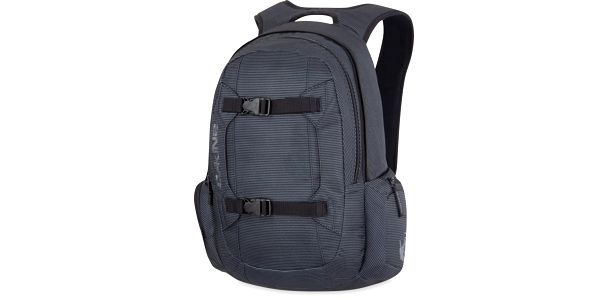 Batoh Dakine Mission 25L Black Stripes