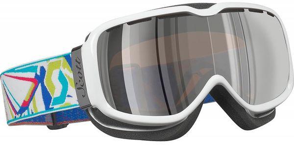 Elegantní dámské lyžařské brýle Scott Aura acs surreal wht silver chrome