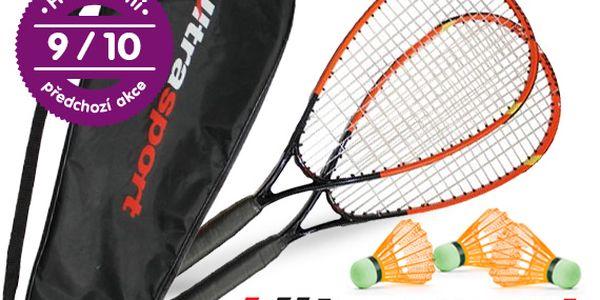 Sada na speed badminton pro dva hráče