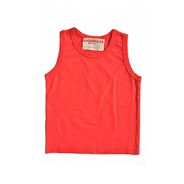 Červené tílko ze 100% bavlny
