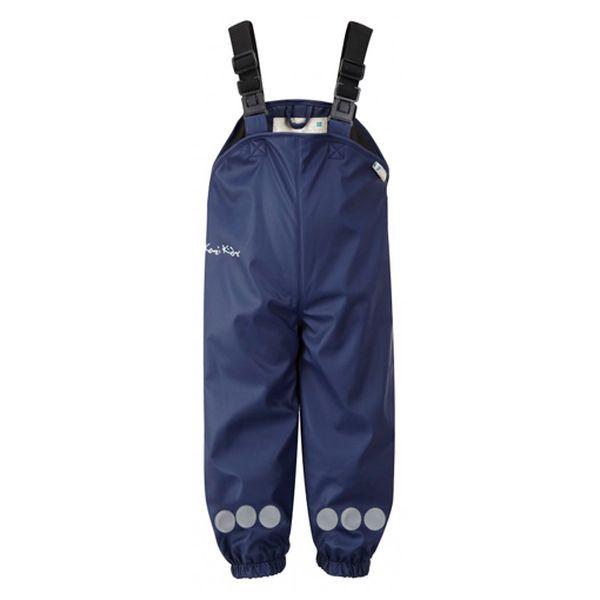 Nepromokavé tmavě modré kalhoty Varberg