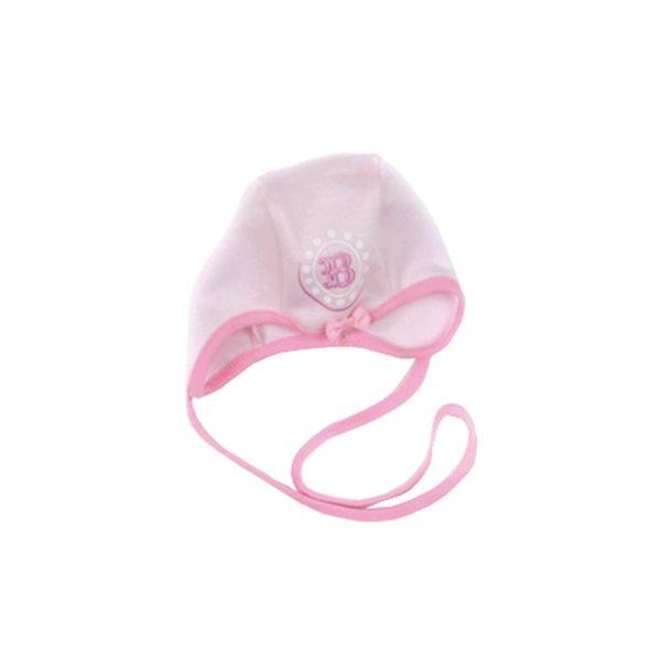 Růžová čepička na zavazování