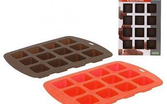 Forma na čokoládu silikonová brownies 12 ks ProGarden KO-175343