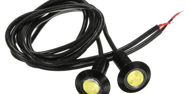 LED světla pro denní svícení (eagle eye) - 2 kusy a poštovné ZDARMA! - 6808269