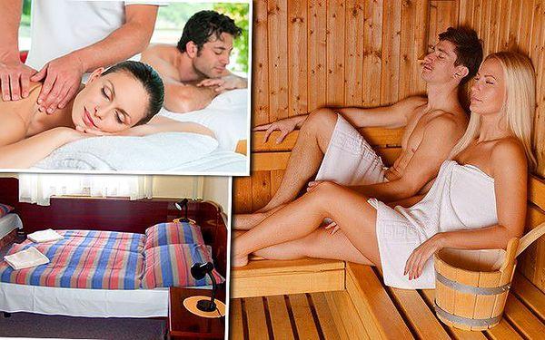 3denní wellness pobyt v hotelu Ring pro 2 osoby s masáží a saunou