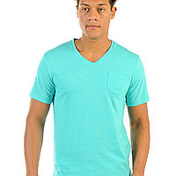 Pánské tričko Mishumo tyrkysové