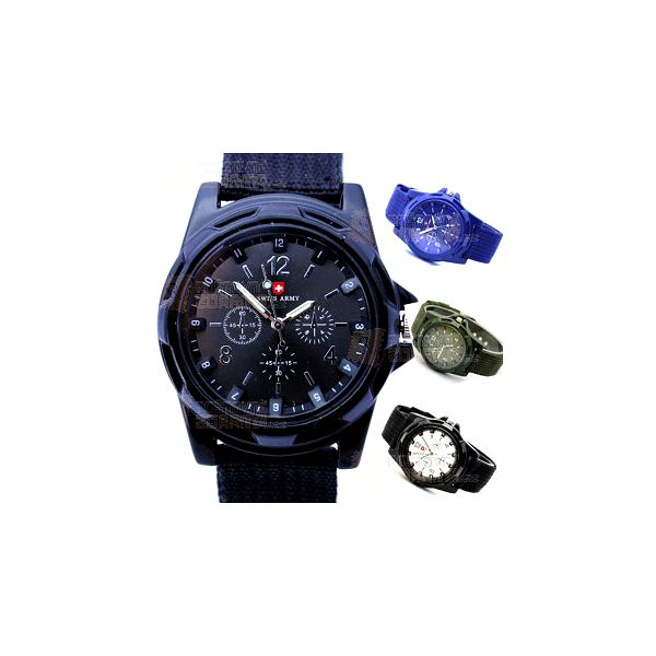 Pánské sportovní army hodinky a poštovné ZDARMA! - 9808330