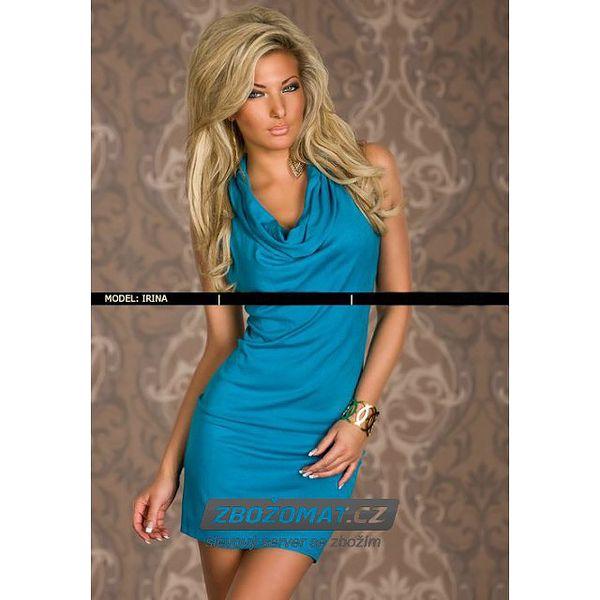 Atraktivní šaty s volánky
