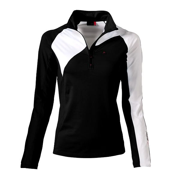 Dámská černo-bílá sportovní mikina Maier