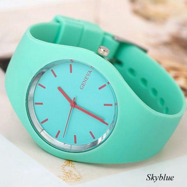 Sportovní hodinky Geneva a poštovné ZDARMA! - 6808319