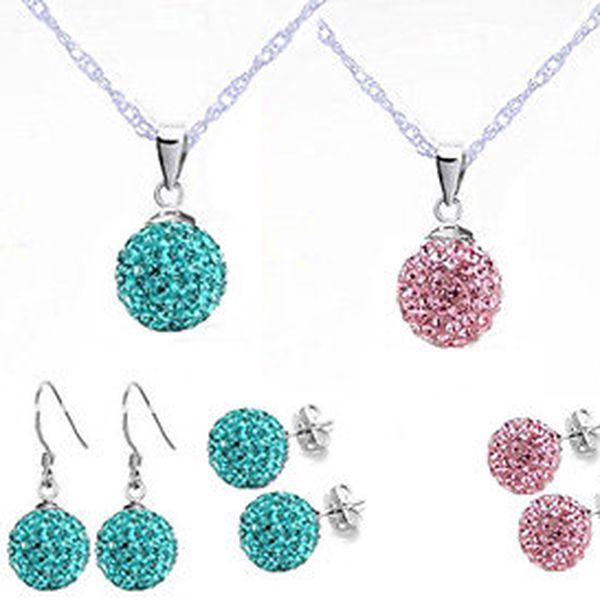 Krásný krystalový set v 10 barevných provedení