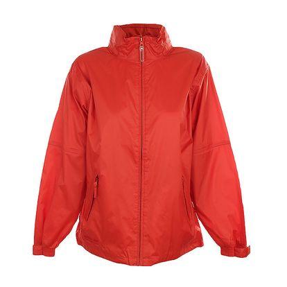Dámská červenooranžová nepromokavá bunda Northland Professional