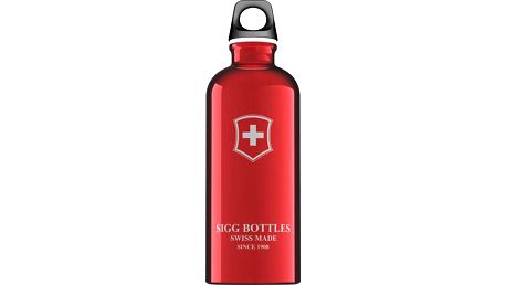 Lahev SIGG Swiss Emblem Red 0.6l