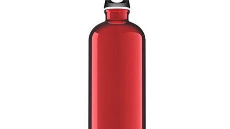 Lahev SIGG Traveller Red 1.0l vyhovuje nejpřísnější potravinářské normě FDA.