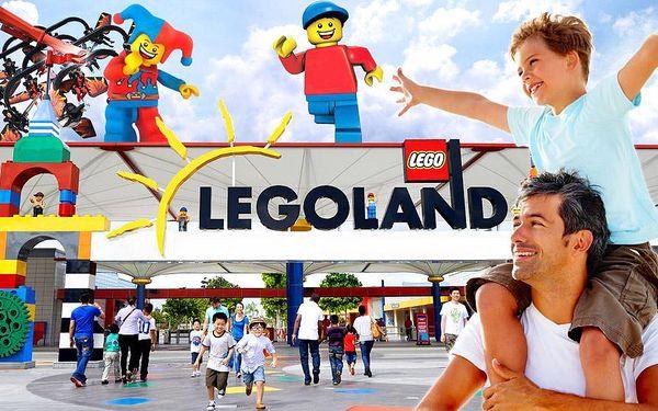 Celodenní zájezd do Legolandu se vstupem zdarma