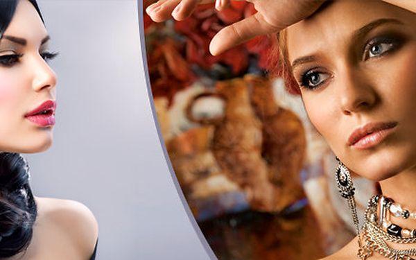 Celkové 90minutové kosmetické ošetření včetně galvanické žehličky