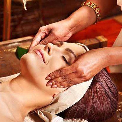 Ayurvédská masáž hlavy, antistresová sestava a harmonizace pomocí fonoforézy | Marika Mariewicz Studio Cavita