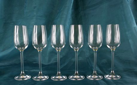Český výrobek: 6 skleniček na portské víno 110ml