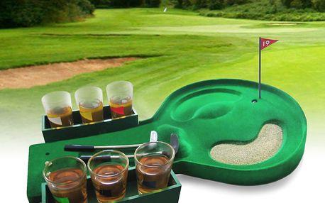 Alkoholový golf pobaví všechny Vaše přátele